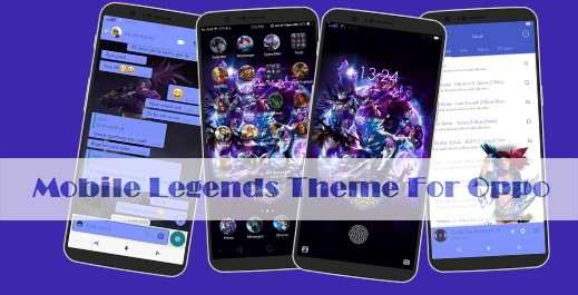 Tema Mobile Legends Untuk Oppo A5, F5, A83, A3S, A7, F7 dan Oppo Lainnya