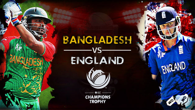 England vs Bangladesh live match ICC Champions Trophy 2017