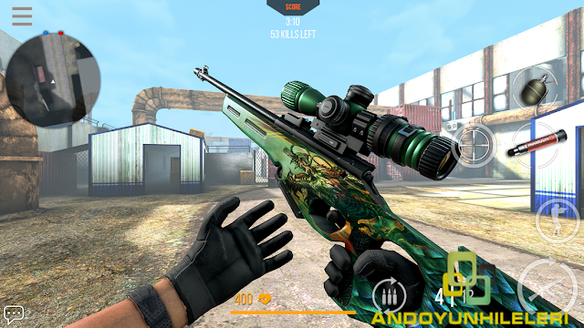 Modern Strike Online Savaş Hileli APK - Aim Speed Mod Menü