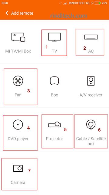 Cara Hp Android jadi remote xiaomi