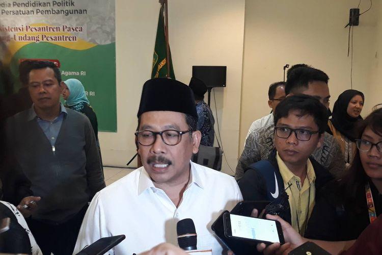 Wakil Menag Paparkan 3 Unsur Dai yang Radikal