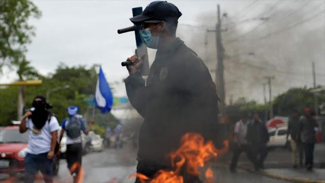 Nicaragua sufre incremento de delitos por turbulencia política