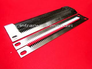 pisau perforasi, pisau zig zag, pisau kemasan renteng, pisau industri intranusa mandiri 038