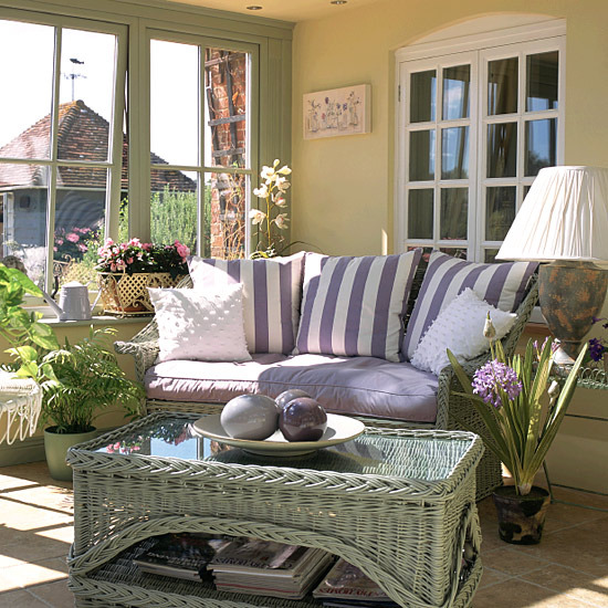 Sun Room Storage Ideas: New Home Interior Design: Conservatories