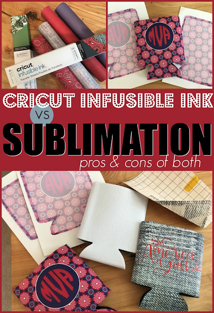 silhouette 101, silhouette america blog, sublimation, infusible ink, cricut infusible ink