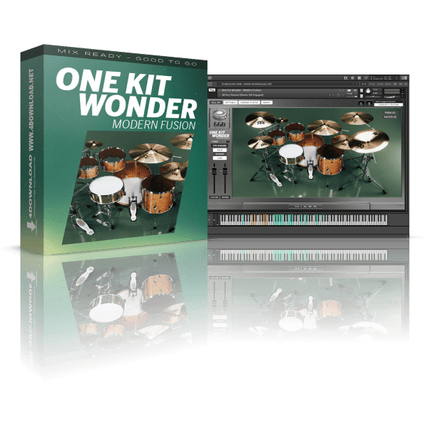 GetGood Drums One Kit Wonder - Modern Fusion v1.0.0