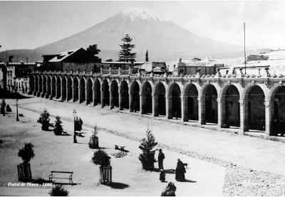 Foto de Plaza de Armas de Arequipa años atras