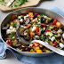 Roasted Mediterranean vegetables sauce for pasta