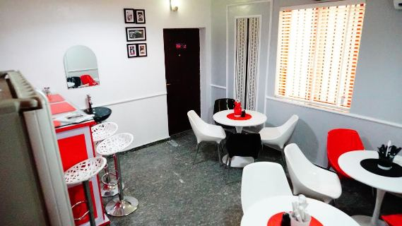 Linda Ikeji Media staff cafeteria