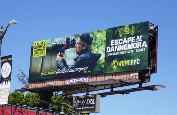 Escape at Dannemora 2019 Emmy nominee billboard