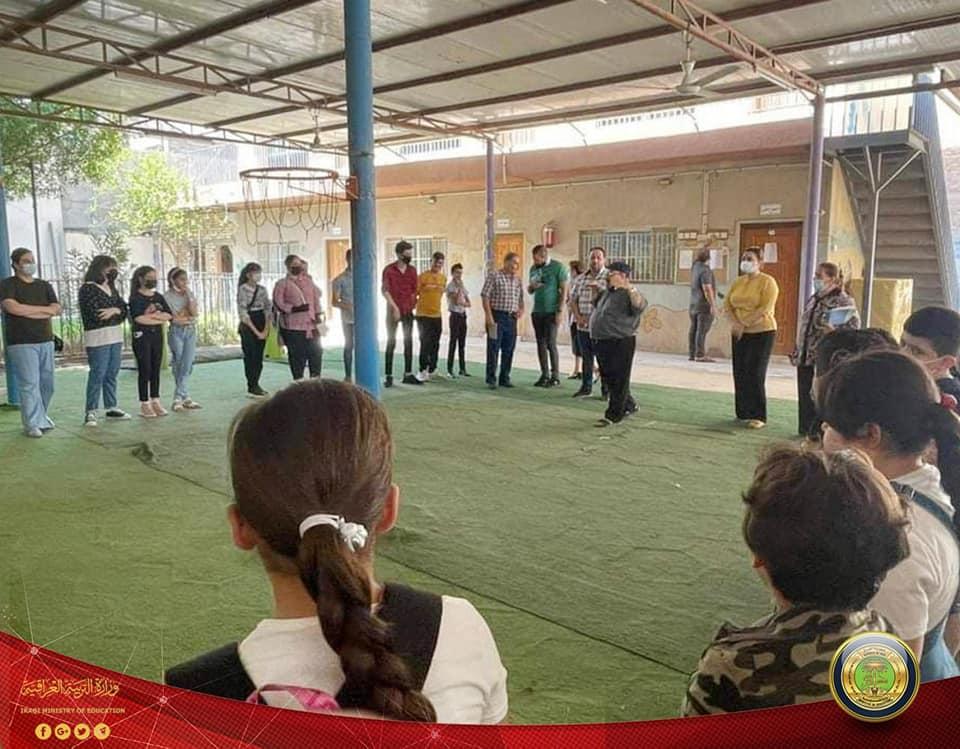 """برنامج """"التعليم المسيحي"""" يبدأ بث الدروس التعليمية للصغار من أرض البصرة الفيحاء 217944205_1854869214721750_9018896473491978226_n"""
