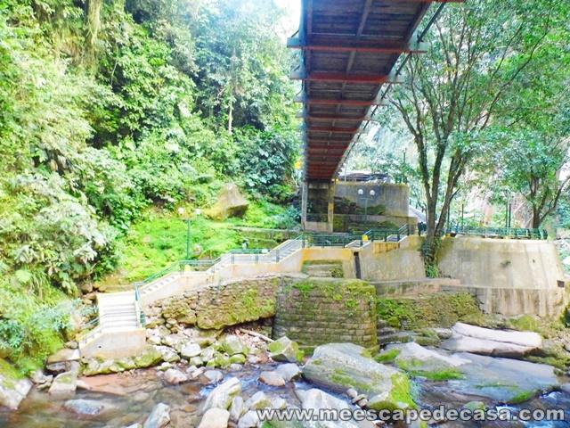 Recreo Catarata Velo de la Novia, Aguaytía (bajo del puente)
