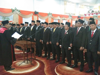 35 Anggota DPRD Tebo Periode 2019-2024 Resmi Dilantik