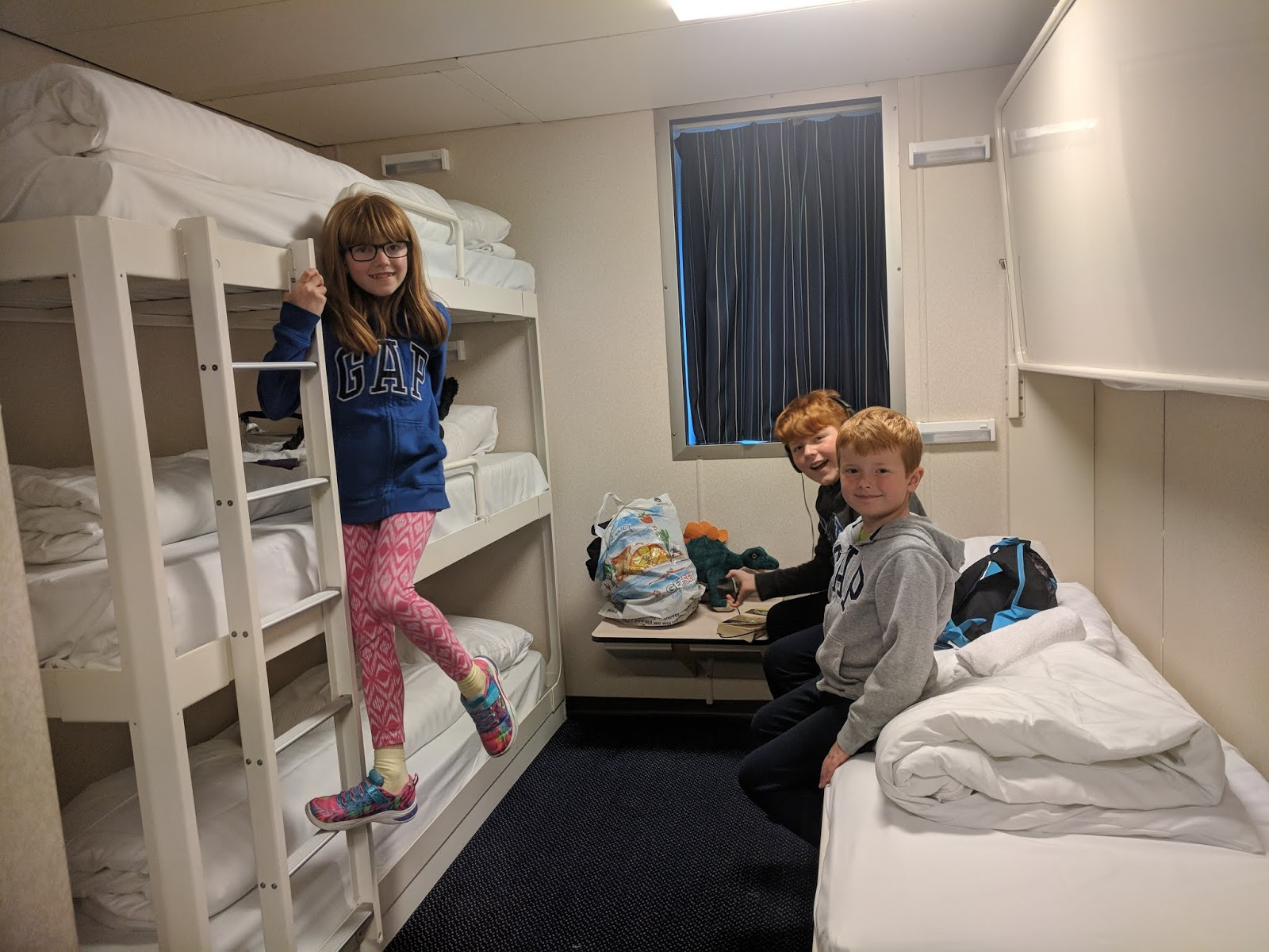 The Ultimate Guide to Staying at Duinrell with Eurocamp DFDS Seaways 5 berth seaview cabin