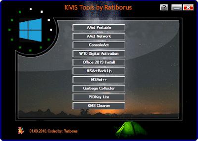 KMS Tools activator For Windows and Office Activation تحميل ادوات تفعيل الويندوز واوفيس تعمل مع جميع نسخ الويندوز والاوفيس
