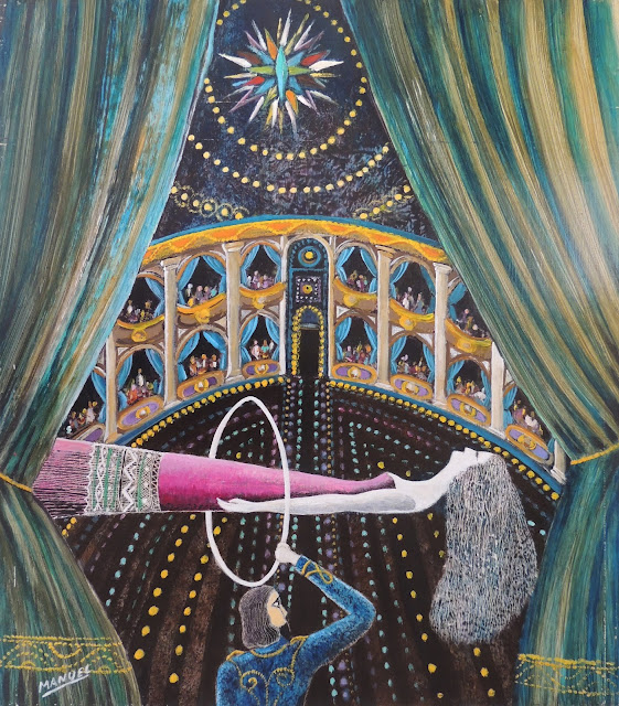 Obra de arte en venta Manuel Carmona: pintura ilusionismo