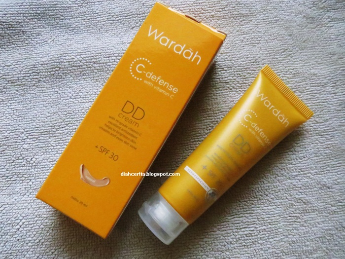 REVIEW Wardah C Defense DD Cream With SPF 30