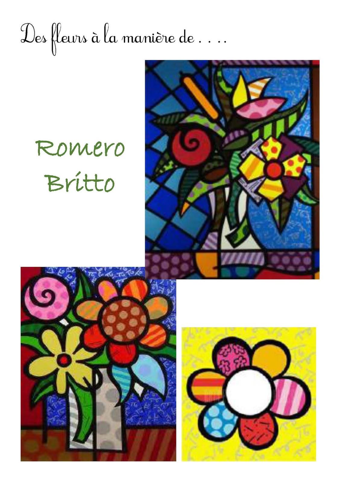 Ulis cole ingwiller salle 5 - Coloriage fleur britto ...