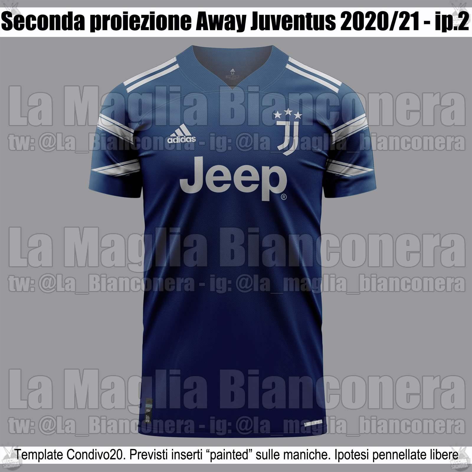 Download Juventus Away Kit 2020/21 Images