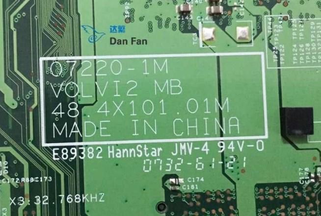 07220-1M VOLVI2 48.4X101.01M Acer Aspire 4315 Bios