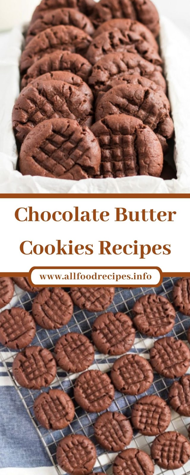 Chocolate Butter Cookies Recipes