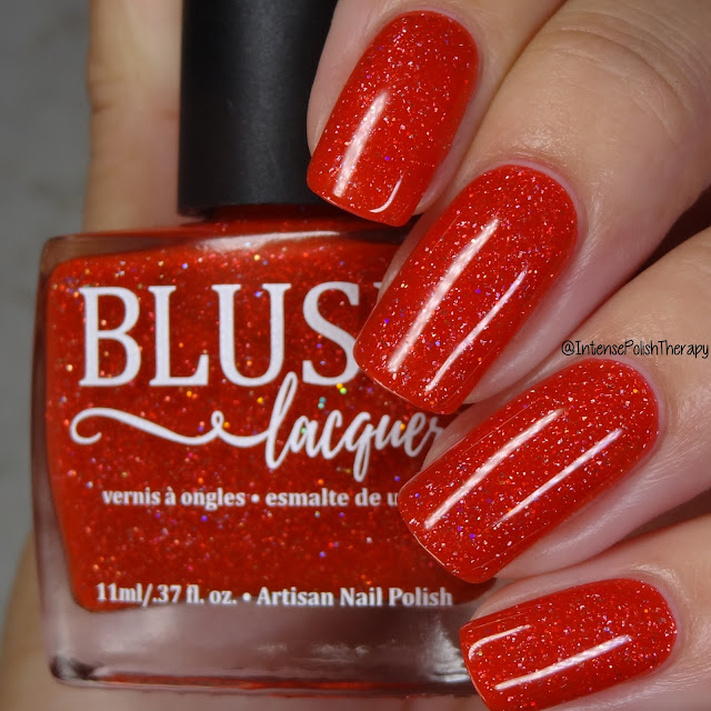 Blush Lacquer Jingle Bell Rock