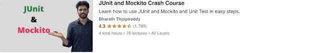 Junit and Mockito