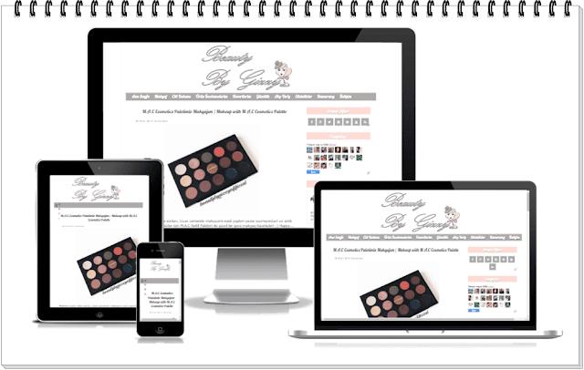 Responsive Blog Tasarımı-Makyajlı Yorum