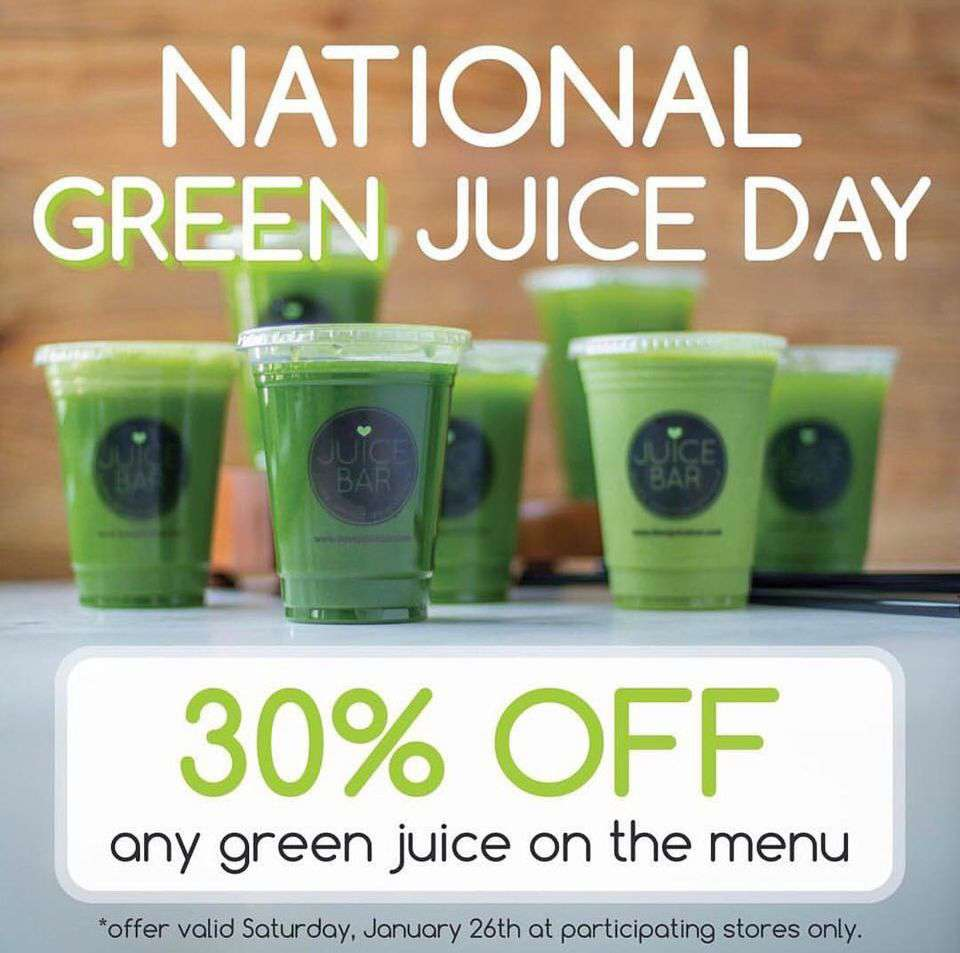 National Green Juice Day Wishes Beautiful Image