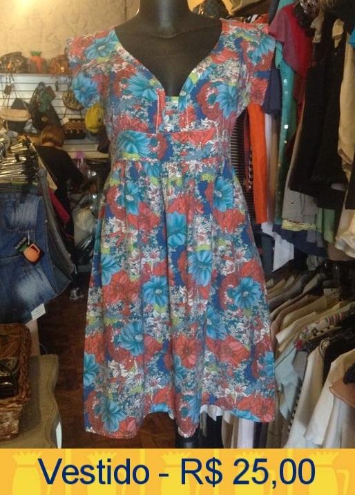 a14a433ba1d O vestido de hoje está no Brechó Vó Judith da Rua Cayowaá