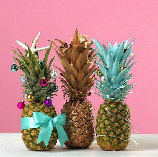 L 39 ortodimichelle trend alert ananas travestiti da for Albero di ananas