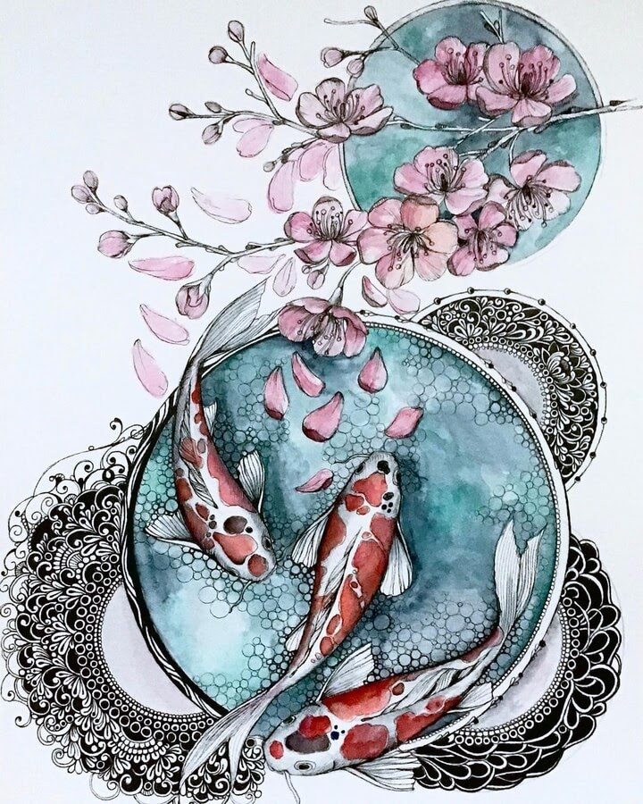 09-A-school-of-fish-sinArt-www-designstack-co