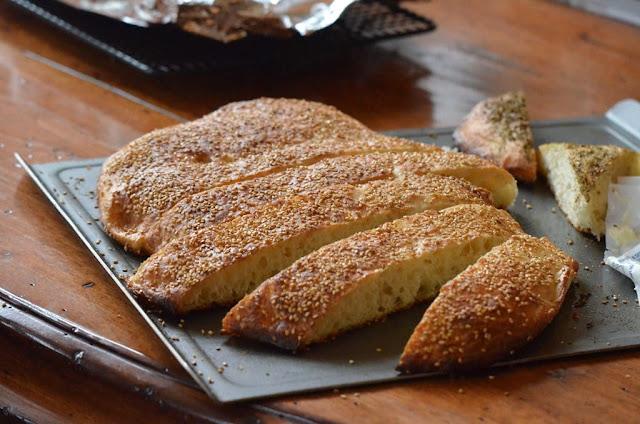 Lebanese talami bread