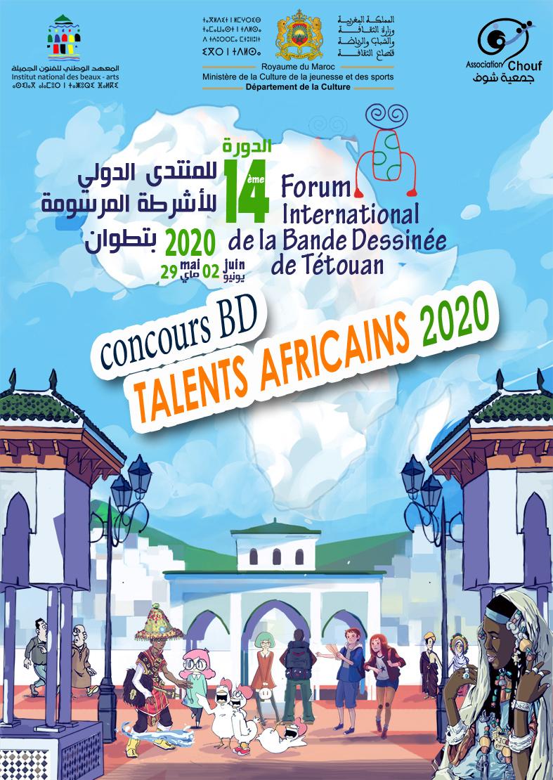 Chouf La Bd Marocaine Concours De Bande Dessinee Talents Africains 2020