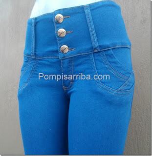 Pantalon de mujer en Mezclilla suavecita