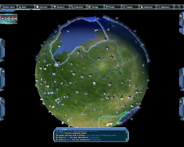 UFO Afterlight Terraformed Planet