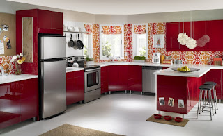 red kitchen ideas for decorating