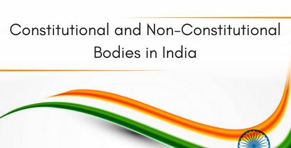 constitutional bodies
