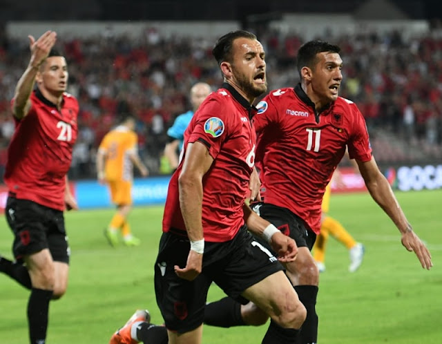 First win of Albania of Edy Reja for Euro 2020 qualifying