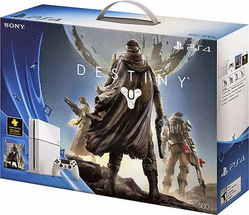 Glacier White Destiny Play station 4