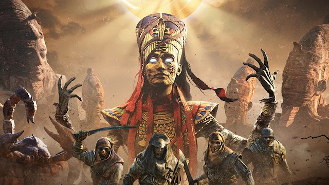 curse of the pharaohs assassin's creed origins