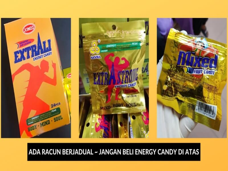 Energy Candy Diharamkan