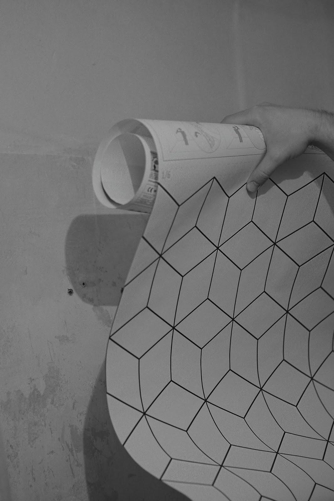 Fototapeta fizelina do łazienki