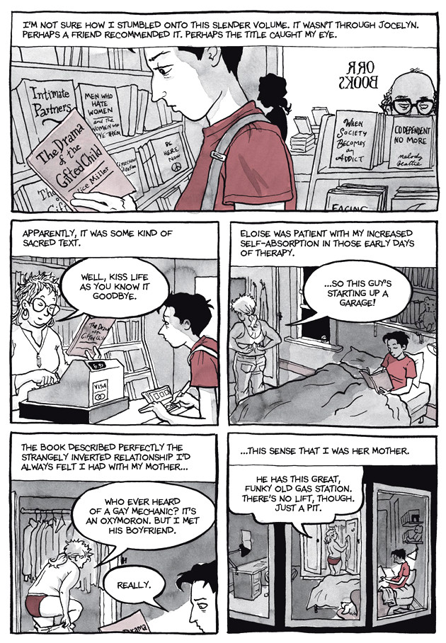 Page 15, Chapter 2: Transitional Objects from Alison Bechdel's graphic novel Are You My Mother