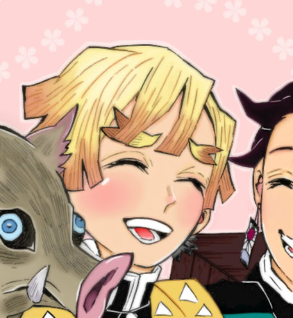Hoje é o aniversário de Zenitsu Agatsuma do Anime Kimetsu no Yaiba