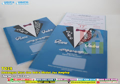 Undangan Rara Dan Indra Model Jas Amplop