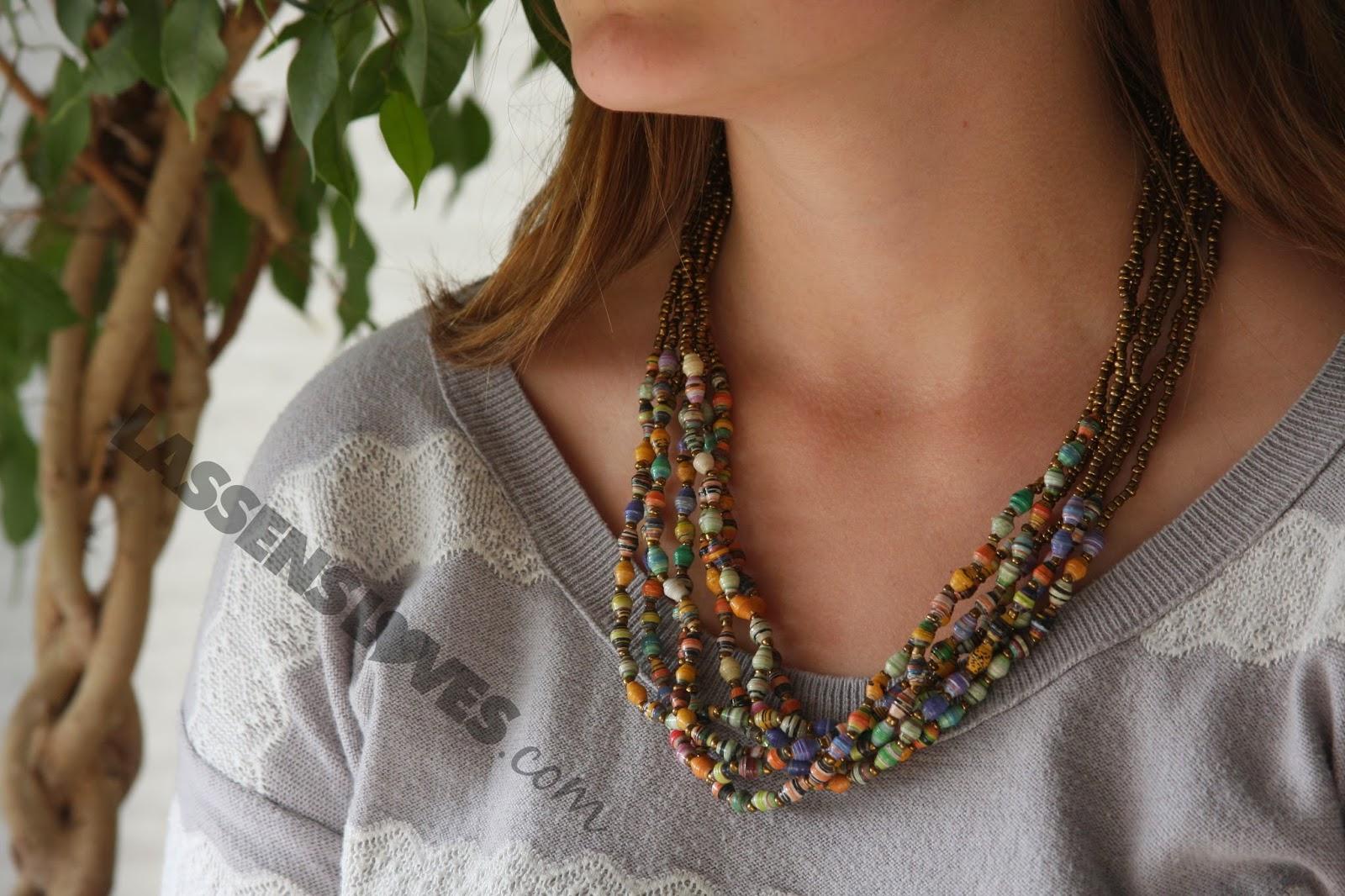 stocking+stuffers, paper+beads, Ugandan+beads, Gulu+beads