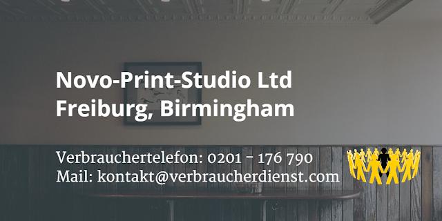 Novo-Print-Studio Ltd  Freiburg  Birmingham