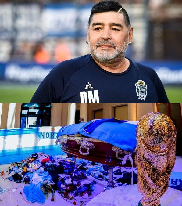 Football Legend, Diego Maradona Laid To Rest In Private Ceremony In Buenos Aires Amid Tears (Photos)