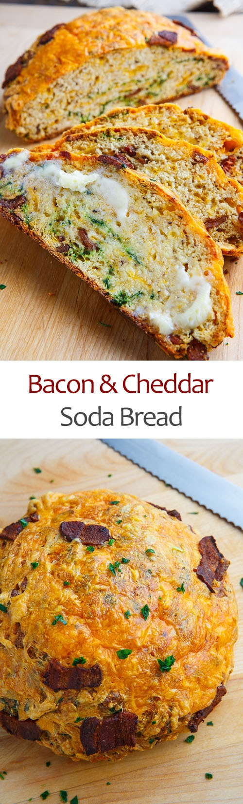 Bacon and Cheddar Soda Bread